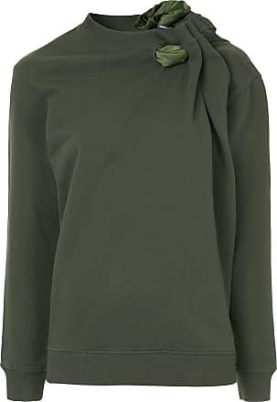 Y / Project Moletom com detalhe de lenço - Verde