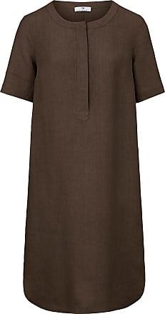 Peter Hahn Kleid zum Schlupfen aus 100% Leinen Peter Hahn braun