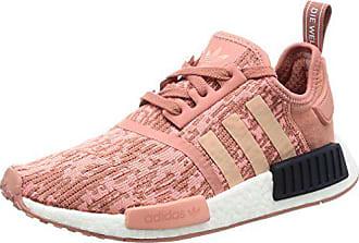watch 0145c 614ee adidas Damen NMDr1 W Sneakers Braun (Raw F15trace Pink F17legend Ink