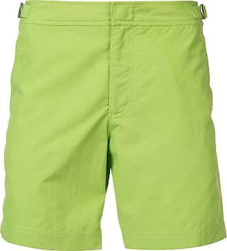 Orlebar Brown Short liso - Verde