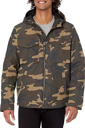 Details about  /New Levi/'s Men/'s Hooded Advanced Water Resistant Rain Jacket Black Size XXL $180