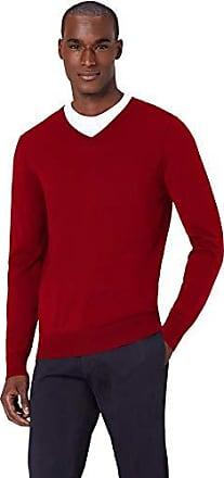 MERAKI Damen Pullover Rib V-neck