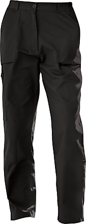Regatta New Womens/Ladies Action Sports Trousers (20 x Regular) (Black)