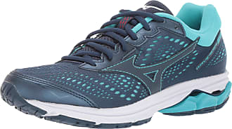 Mizuno Womens Wave Rider 22 Running Shoe, Blue Wing Teal, 9 UK