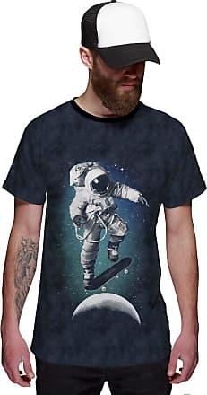 Di Nuevo Camiseta Astronauta Skatista do Espaço