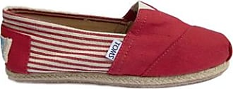 Toms Uni rotes Seil Slipper - 37.5 | red - Red/Red