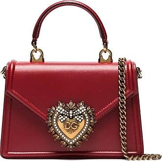 Dolce & Gabbana Bolsa tote Devotion mini - Vermelho