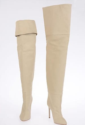 Yeezy by Kanye West SEASON 4 11 cm Canvas Over the Knee Boots size 35