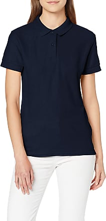 Gildan Womens DryBlend Ladies Double Pique Polo Shirt, Blue (Navy), 10 (Size: X-Large)