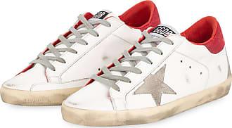 Golden Goose Sneaker SUPERSTAR - WEISS/ ROT