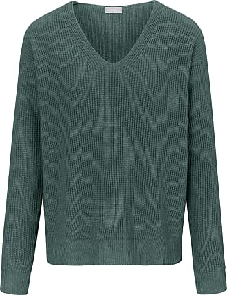 include V-neck jumper long sleeves include green