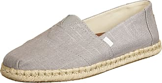 Toms Toms One for One Mens Classic Espadrille Espadrilles Size 44 EU Grey