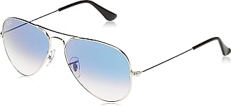 Ray-Ban Mens Aviator Large Metal Aviator Sunglasses, Silver (003/3F)