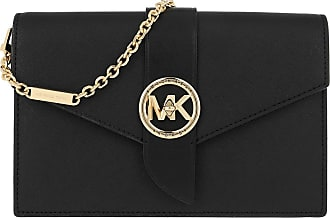 Michael Kors Cross Body Bags - Charm MD Wallet On Chain Crossbody Bag Black - black - Cross Body Bags for ladies