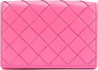 Bottega Veneta Intrecciato weave wallet - Rosa