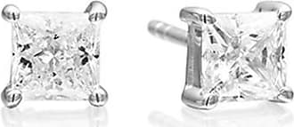 Sif Jakobs Jewellery Earrings Princess Square with white zirconia