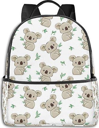 Not Applicable Clothing Cute Koala Pattern Mens Laptop Backpack Womens College Casual Lightweight Outdoor Sports Backpack