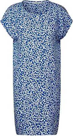 Cecil Kleid mit Blumenmuster - santorini blue