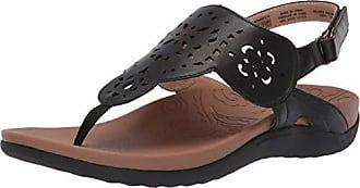 Rockport Women Ridge Circle Sling Slide Sandal Black 6.5 W US