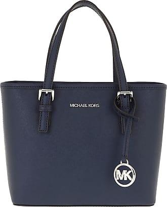 Michael Kors Jet Set Travel Tote Bag Navy
