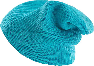 4sold Unisex Slouch Winter Beanie Hat Plain Beanie Ski Winter Hat Design in UK (Turquoise)