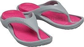 Crocs 3-point dual cushioned flip flops