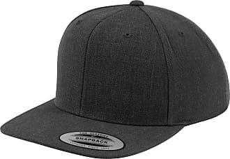 Yupoong Mens The Classic Premium Snapback Cap (One Size) (Dark Grey/Dark Grey)