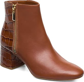 Michael Kors Alane Flex Bootie Shoes Boots Ankle Boots Ankle Boots With Heel Brun Michael Kors Shoes