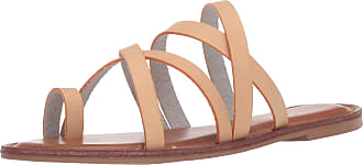 xoxo Womens Rodger Flat Sandal, Nude, 7 UK