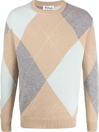 Pringle Of Scotland Suéter decote arredondado com padronagem losangos - Neutro