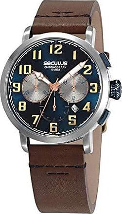 Seculus Relógio Seculus Masculino Ref: 13029g0svnc2 Cronógrafo Prateado