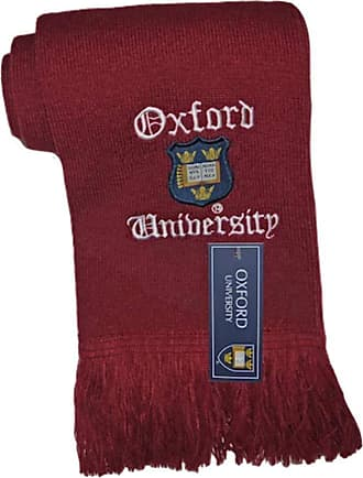 Oxford University Licensed Oxford University Scarf Maroon