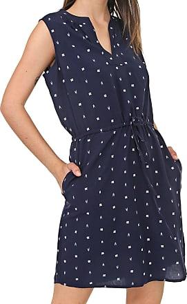 GAP Vestido GAP Curto Estampado Azul-Marinho
