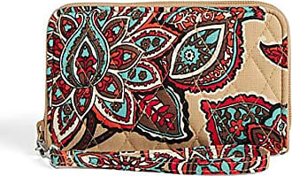 Vera Bradley RFID Grab & Go Wristlet, Signature Cotton, Desert Floral + 1.50 Power