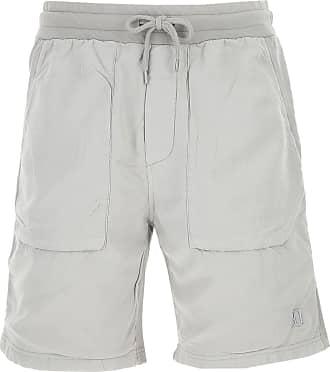 Dondup Shorts for Men On Sale, Light Grey, Cotton, 2019, L M S