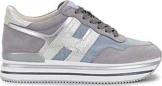 Hogan Midi H222, SILBER,GRAU, 38.5 - Schuhe