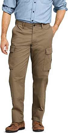Lands End Women/'s Mid Rise Bi-Stretch Straight Fit Slim Leg Pants Tropic Green