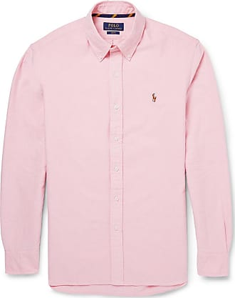 Polo Ralph Lauren Slim-fit Button-down Collar Cotton Oxford Shirt - Pink