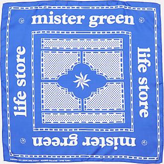 Mister Green Life Store Silk Bandana Blue