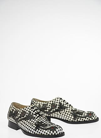 Comme Des Garçons Checked Embroidered Derby size 24.5