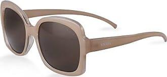 Vivara Óculos de Sol Quadrado em Acetato Nude