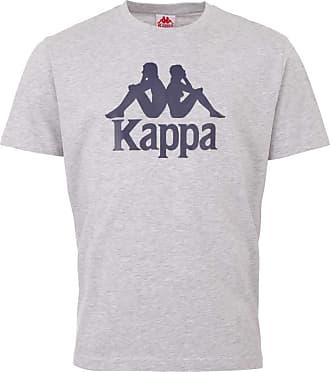 Kappa Mens 303910-15-4101m_XL T-Shirt, Gray, X-Large