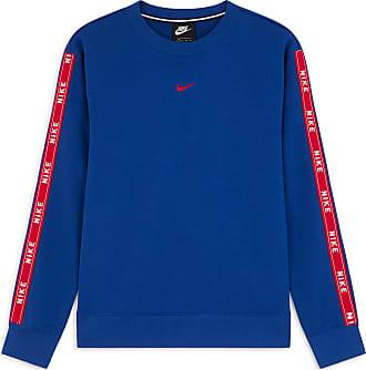 31be80c19c37e Nike CREW LOGO TAPE NIKE BLEU/ROUGE XS FEMME NIKE BLEU/ROUGE XS FEMME