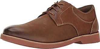 Bostonian Mens Pariden Plain Oxford, Tan W Brick, 8 M US