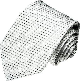 LORENZO CANA Jacquard Woven Italian 100/% Silk Necktie Checkered Red Blue 12017