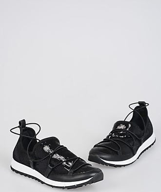 Jimmy Choo London Sequined Pull On ANDREA Sneakers Größe 36,5