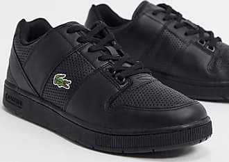 Lacoste thrill trainers in black