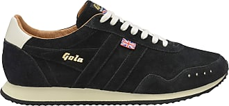 Gola Track Suede 317 Made in England 1905 Mens Black
