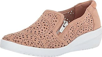 Anne Klein AK Sport Womens Yvette Sneaker Oxford Flat, Light Natural Multi Nubuck, 10.5 M US