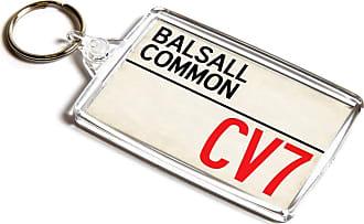 ILoveGifts KEYRING - Balsall Common CV7 - UK Postcode Place Gift
